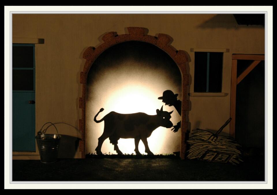 Anselme et la vache