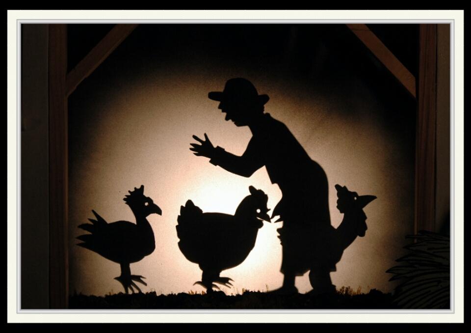 Anselme et les poules