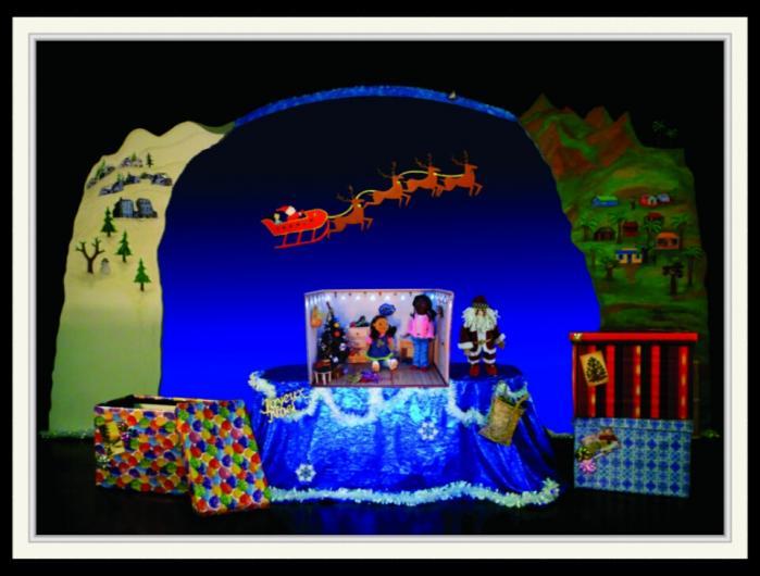will maes,spectacle,marionnettes,jeune public,enfant,ombres chinoises,theatre,spectacle de noel,voyage,ile de la reunion,le noel au soleil de marie vanille